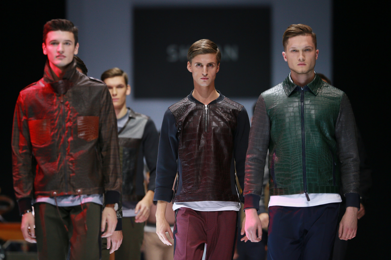 """Ein Modell des Modehauses """"SHIYAN"""""""