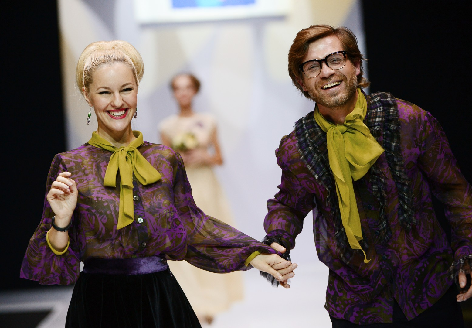"Ein Modell des Modehauses ""Teplitskaya Design"""