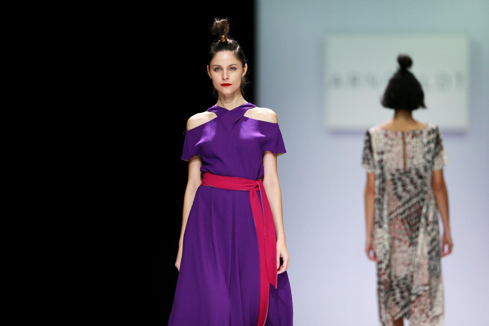 "Ein Modell des Modehauses ""Arngoldt"""