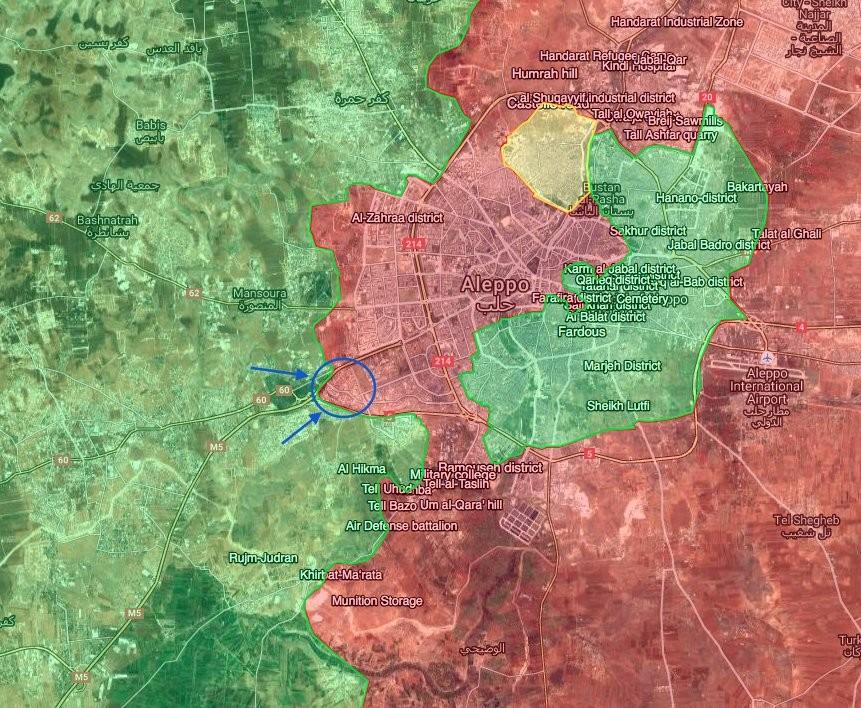 Syrien: Rebellen und Dschihadisten starten mit neuen Waffen Überraschungsoffensive auf Aleppo