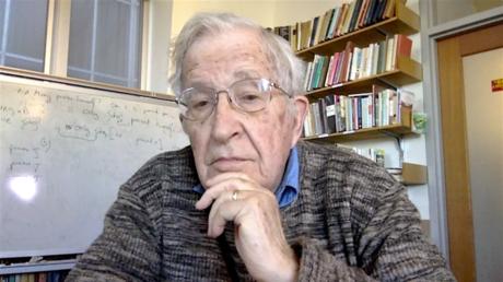 Noam Chomsky, Liguist und einer der führenden Intellektuellen in den USA. Bild: acTVism.org