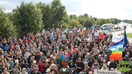 Mobilisierungserfolge hatte die Friedensbewegung zuletzt vor allem mit den Stopp-Ramstein-Protesten.