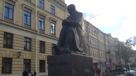 Dostojewskij-Denkmal in Sankt Petersburg