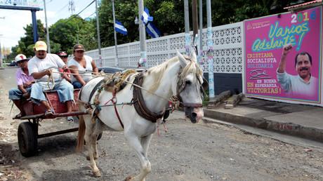 Der Pferdewagen täuscht, Nicaragua befindet sich gerade in einer Boom-Phase, bleibt aber eines der ärmsten Länder Lateinamerikas.