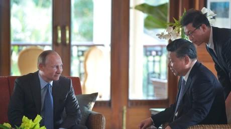 BRICS-Gipfel in Indien: Wladimir Putin und Xi Jinping erörtern Syrien-Krise