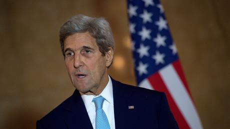 Hat seine friedliebende Seite entdeckt: US-Außenminister John Kerry.