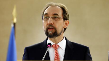 Der Hohe Kommissar für Menschenrechte der Vereinten Nationen, Seid al-Hussein