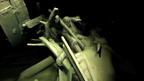 Mehr als 40 antike Schiffe am Schwarzmeerboden entdeckt