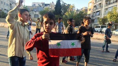 Zivilisten in Aleppo: Westliche Sanktionen setzen syrischen Kindern schwer zu