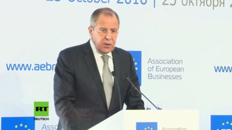 """Lawrow zu deutscher Regierung und EU-Politik: """"EU lässt sich von russophober Minderheit anführen"""""""