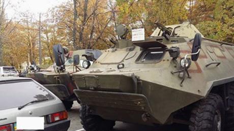Kiew: Gepanzerte Kriegsgeräte im freien Verkauf