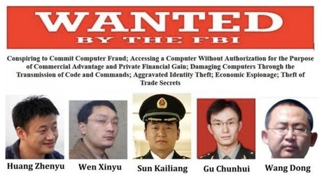 Chinesische Spione sollen geheime Pentagon-Dokumente gestohlen haben.