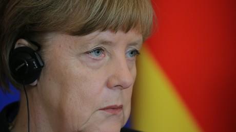 Linke-Fraktionschef ruft zum Merkel-Sturz auf.