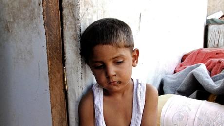 Zwischen den Fronten: Dem Krieg in Syrien fallen auch zahlreiche Kinder zum Opfer.