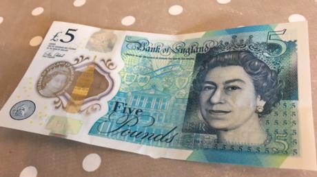 Britische Läden wollen keine neuen 5-Pfund-Scheine akzeptieren