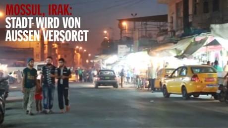 IS-Streetlife: Spiegel Online zeigt fröhliches Flanieren in der Terroristenhochburg. Quelle: