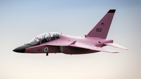 Der pinke Jet der Israeli Air Force