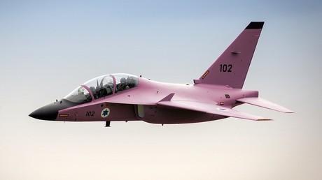 Der pinke Jet der Israeli Air Force