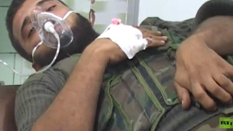 Bei C-Waffen-Angriff in Aleppo 37 Zivilisten verletzt und zwei Militärs tot