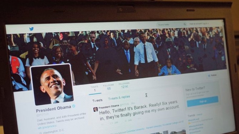 Weißes Haus: Tweets von Obama werden nach Präsidentschaftswahlen gelöscht