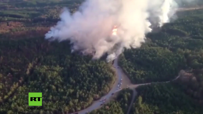 USA: Wichtige Gasleitung in Alabama explodiert - Mehrere Verletzte