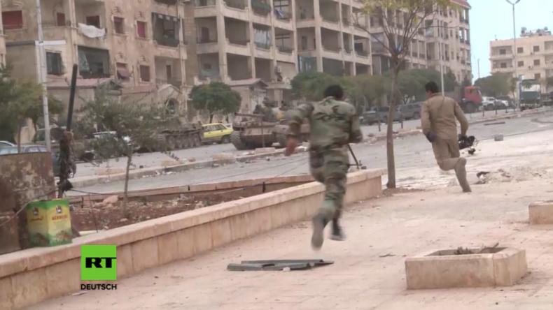 Syrien: Schwere Kämpfe zwischen Syrischer Armee und Islamisten der Dschaisch al-Fatah in West-Aleppo