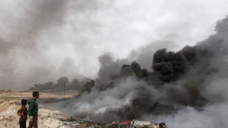 """""""Es brennt sich durch das Fleisch"""" - Amnesty warnt vor Phosphor-Einsatz in Mossul"""