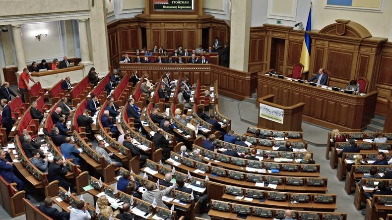 Einkünfte ukrainischer Politiker lassen Bürger erschüttern
