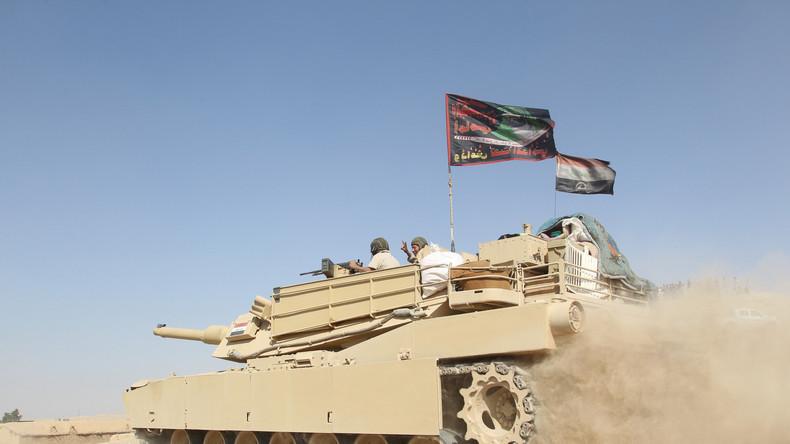Offensive in Mossul: Irakische Armee befreit Fernsehsender von Terroristen