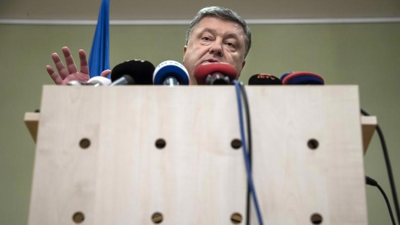 Umfrage: 74 Prozent der Ukrainer sind mit Poroschenkos Tätigkeit unzufrieden