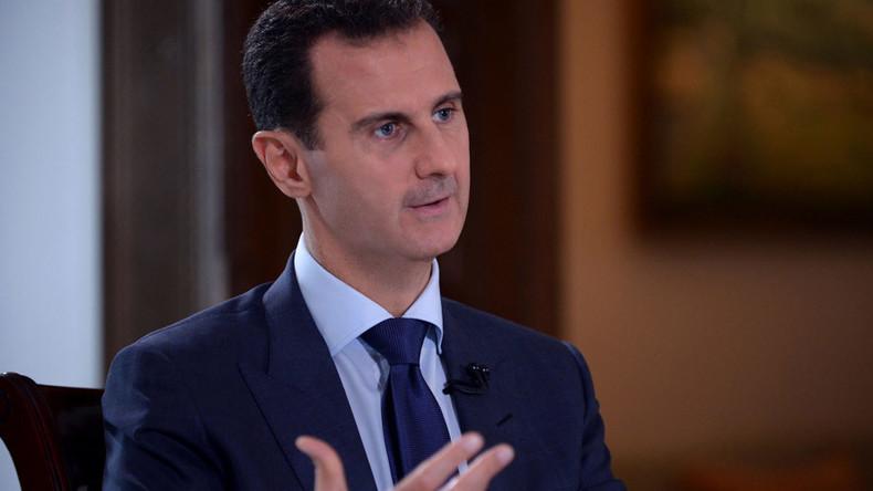 """""""Kapitän des Schiffs springt nicht ins Wasser"""" - Syriens Präsident kritisiert westliche Doppelmoral"""