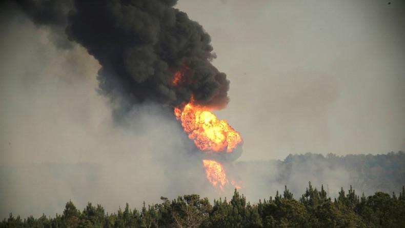 USA: Notstand in Alabama wegen Pipeline-Explosion