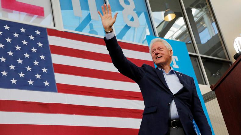 FBI macht Ermittlung gegen Bill Clinton nach 15 Jahren publik
