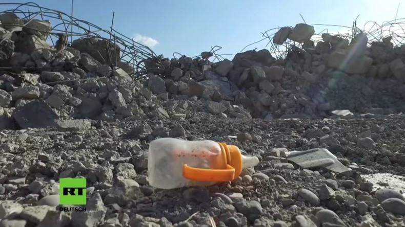 Bombardierung gegen IS: Westliche Kampfflugzeuge zerbomben ziviles Wohngebiet in Mossul