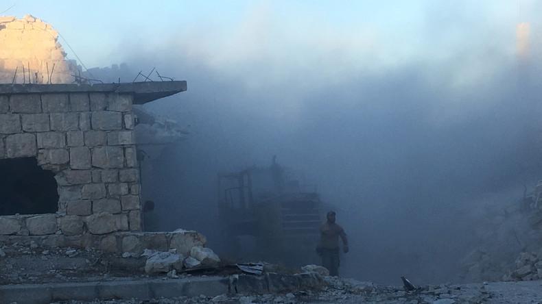Aleppo: Studenten bei Terroristen-Angriff verletzt, ein Toter - RT-Korrespondent unter Beschuss
