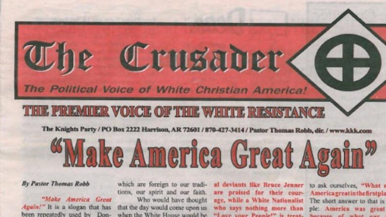 US-Wahlkampf: Ku-Klux-Klan wirbt für Trump – Republikaner lehnen ab
