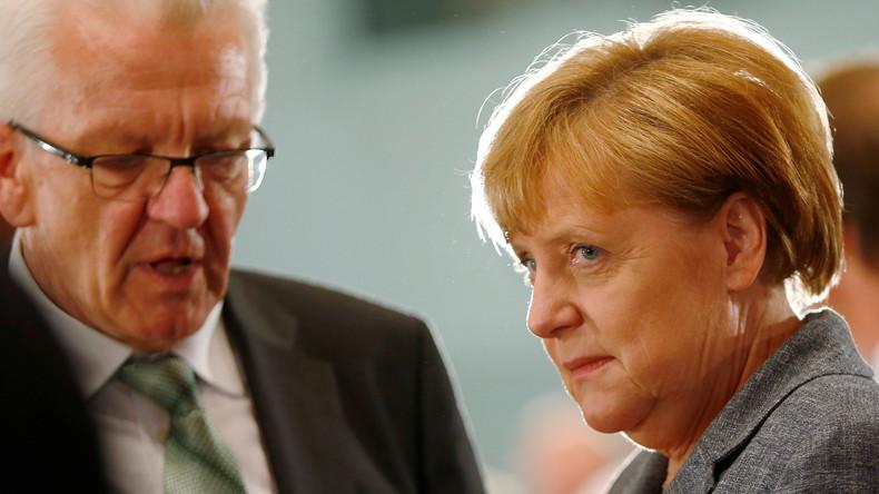 """Oops, he did it again: Winfried Kretschmann lobt Merkel über den """"grünen Klee"""""""