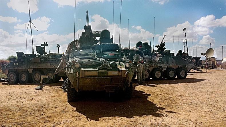 Der Winter naht: USA verlegen fast 6.000 Militärs nach Europa