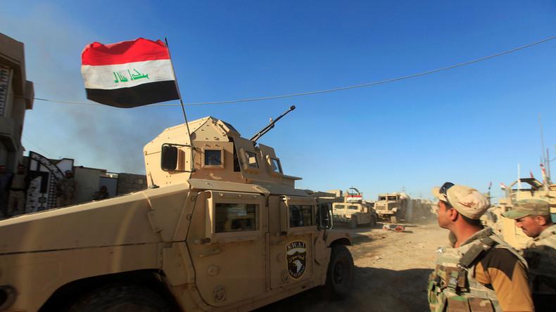 Mossul: Sechs Bezirke von IS befreit