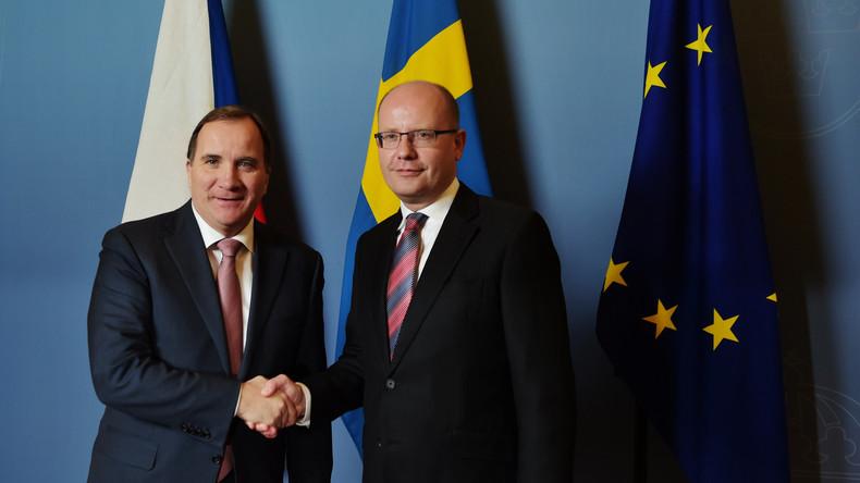 Premiers von Schweden und Tschechien wollen keine EU-Armee