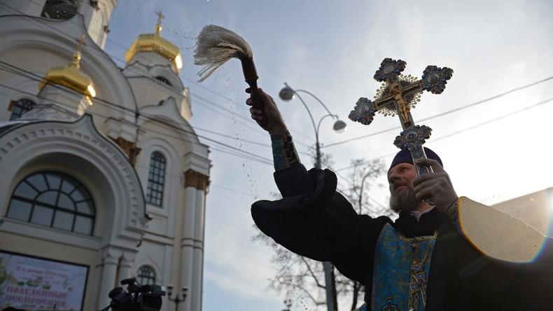 Russland erlebt Wiederkehr der Religion: 29.000 neue Kirchen in 28 Jahren
