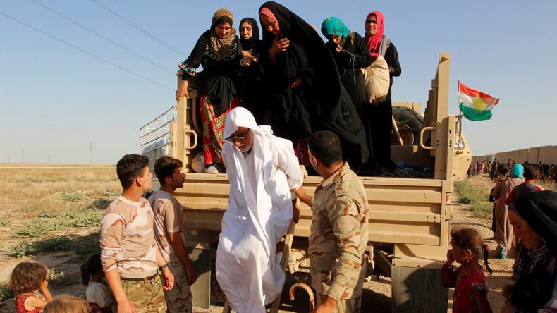 Irak: 18 Menschen sterben auf IS-Minenfeld bei Flucht