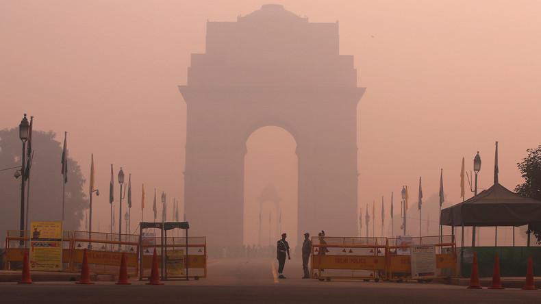 Delhi: Schulunterricht fällt wegen Smogalarm