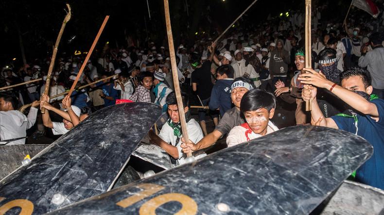 Indonesien: Mehr als 240 Menschen bei Protesten in Jakarta verletzt