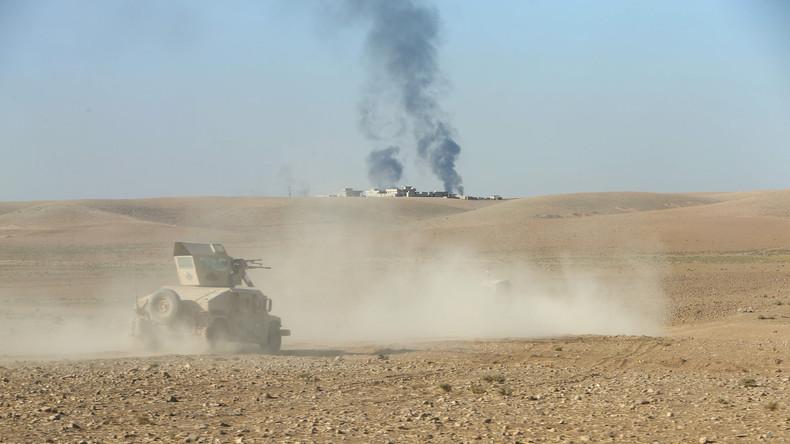 Irakische Truppen erstürmen eine strategisch wichtige Ortschaft bei Mossul