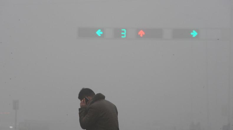 Peking: Rund 500 Flüge wegen Smog und Bewölkung gestrichen