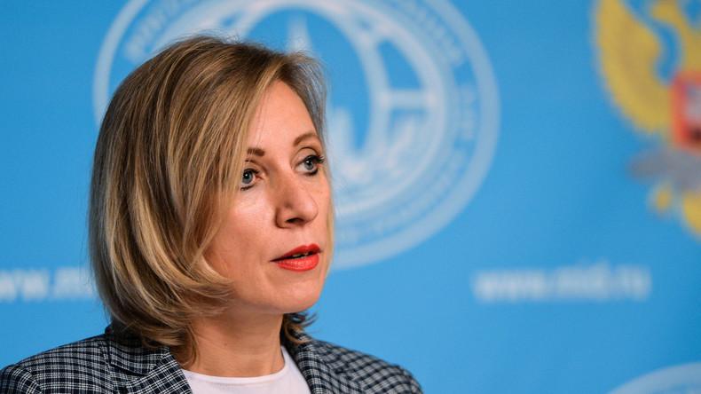 """Maria Sacharowa: """"Die US-Bürger haben eine bessere Präsidentschaftskampagne verdient"""""""