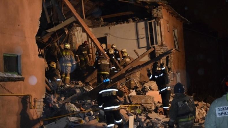 Gasexplosion in Iwanowo fordert fünf Menschenleben