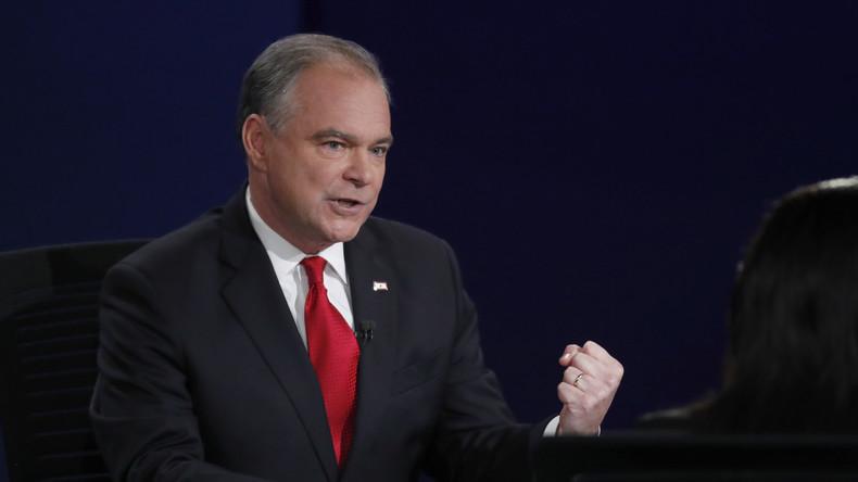"""Vizepräsidentschaftskandidat Timothy Kaine: """"Das FBI ist leider zu einem lecken Sieb geworden"""""""