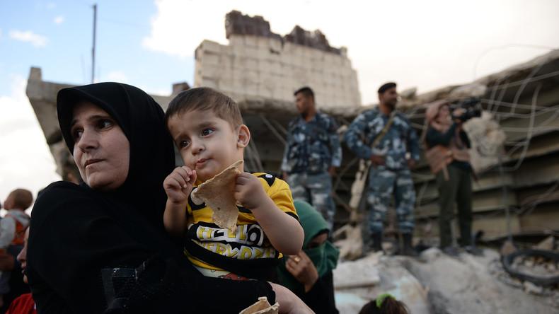 """Russlands Militärbehörde: """"Die Syrer haben vom State Department keinen Krümel Brot bekommen"""""""